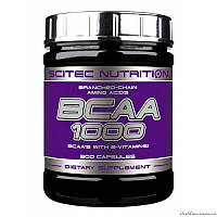 Scitec Nutrition BCAA 1000 300 капсул Аминокислоты