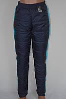 Женские спортивные штаны плащевка
