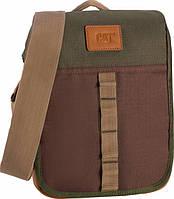 Молодежная повседневная сумка для планшета CAT Urban Active Limited Edition 1,6 л 83204;223 коричневый