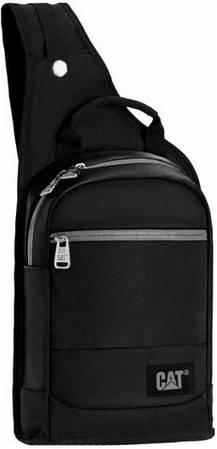 Городской рюкзак с отделение для планшета CAT The Giants черный 5 л. 83196;01 черный
