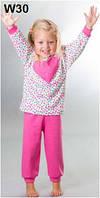 Пижама детская для девочки WIKTORIA W30