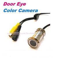 Цветная камера видеонаблюдения - дверной глазок