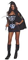 Светящийся костюм скелета