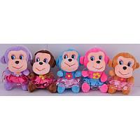 Мягкие плюшевые обезьянки   детские игрушки оптом