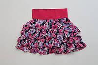 Детская юбка для девочки ,  р.110-128