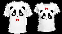 "Парные футболки ""Панды"""