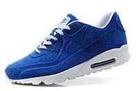 Зимние кроссовки NIKE AIR MAX 90 VT с мехом синие