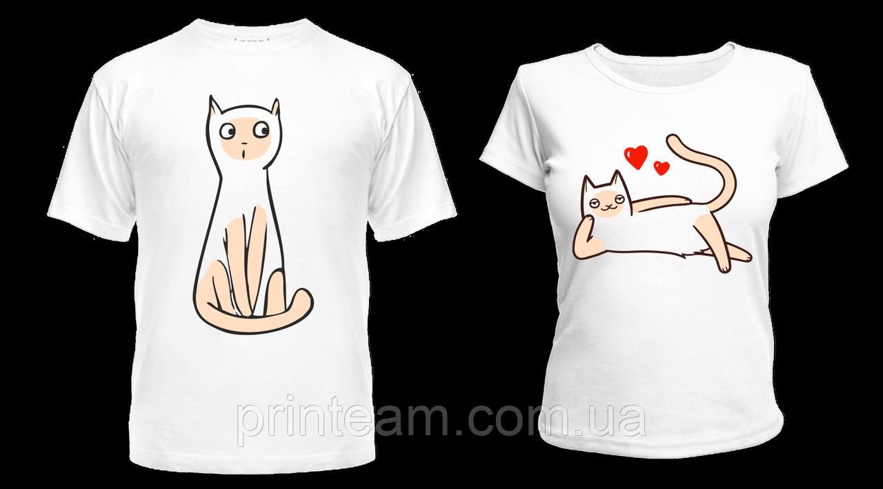 Парные футболки для влюбленных наложенный платеж