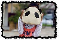 Милая сумка Панда. Стильная сумка. Женская сумка. Недорогая сумка. Интернет магазин. PU кожа. Код: КЕ198
