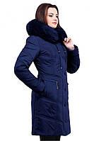 Оригинальное пальто с мехом от производителя