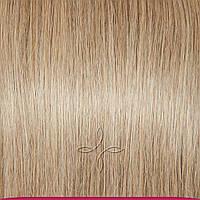 Натуральные европейские волосы на клипсах 40 см 120 грамм, Русый светлый №14