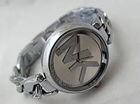 Часы женские Michael Kors - MK - серебристые Майкл Корс, плетение