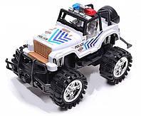 Инерционная машинка полицейский Джип, 55-02A