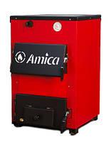 Твердотопливный котел с варочной поверхностью Амика Оптима мощностью 18 кВт (Amica Optima)