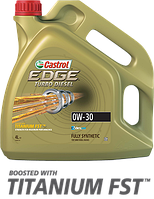 Масло моторное CASTROL EDGE TURBO DIESEL 0W-30 ✔ 4л.