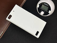 Чехол накладка бампер для BlackBerry Z3 белый