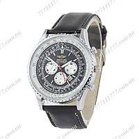 Часы мужские наручные Breitling Chronometre Navitimer Black/Silver/White - Black