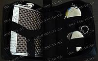 Подарочный Набор с Флягой в Барсетке GT 058-A Подарочный набор с флягой Купить подарок мужчине Фляги с брелком