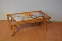 Деревянный переносной столик