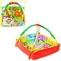 Развивающий коврик манеж для младенца с бортиками 3261