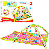 Развивающий игровой коврик для младенца М 2381
