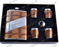 Интересные подарки Мужской Подарочный набор AL804 Фляга+лейка+4 рюмки Фляга мужчины Подарочные наборы