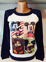Женская стеганная кофта Микки Маус