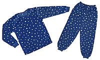 Тёплая флисовая пижама для мальчика р.5,6 лет.Полномер!!