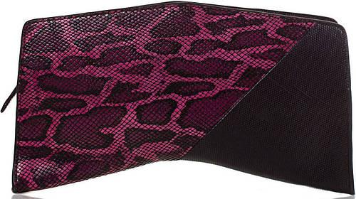 Модный женский кожаный клатч ETERNO (ЭТЕРНО),черный, ET152005-2