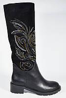 Зимние сапоги без каблука Mallanee стильная модель