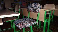 Чехлы на школьные стулья своими руками 11