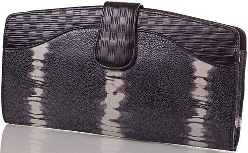 Высококачественный женский кожаный клатч ETERNO (ЭТЕРНО),серый, ET15107-2