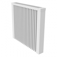 Теплоаккумуляционный настенный обогреватель с терморегулятором ТЕПЛО-ПЛЮС Тип-2 (800 Вт)