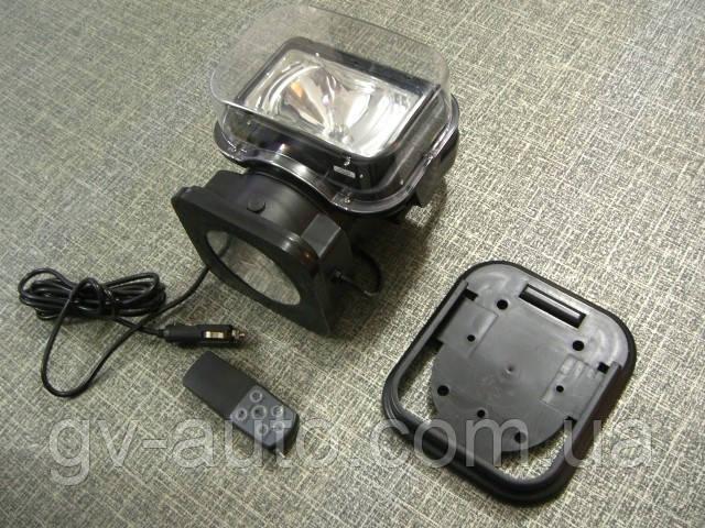 Фара искатель, прожектор 2009, ксенон 55Вт, радиоуправляемая на магните