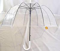 Прозрачный зонт-трость, купол 82 см