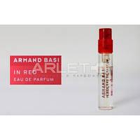 Armand Basi In Red  - туалетная вода  (Оригинал) 1,2ml (пробник)