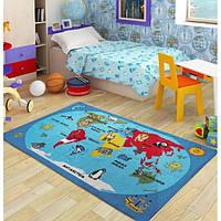 Коврик в детскую комнату Confetti World 100*150 голубой