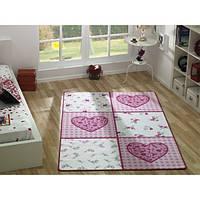 Коврик в детскую комнату Confetti Romantic 133*190 розовый