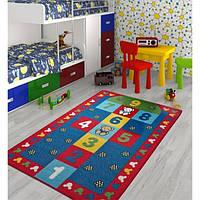 Коврик в детскую комнату Confetti Seksek 133*190 красный