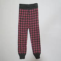 Лосины/гамаши вязаные тёплые для девочек 92р