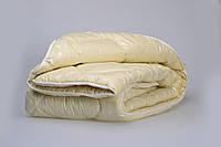 Одеяло из новозеландской овечьей шерсти «Бізе» тик (зима) 140*205см