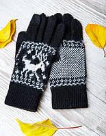 Теплые перчатки , обработка для смартфонов
