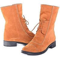 Замшевые женские ботинки Sand