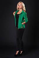 Красивый женский спортивный костюм кофта на молнии материал трикотаж-дайвинг