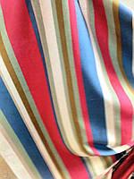 Ткань в стиле прованс, рисунок полоска, цвет № 2