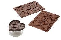 """Набор для шоколадного печенья """"Сердце"""""""