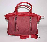 Женская красная сумка Lida