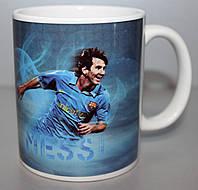 Чашка чайная футбольная с изображением Лионеля Месси