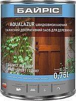 Акриловая лазурь для дерева Байрис Aqualazur 0.75 каштан ,  код 99-358