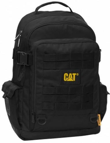 """Прочный рюкзак  с отделениям  для ноутбука 15,6"""" CAT Combat 83148;01 черный"""